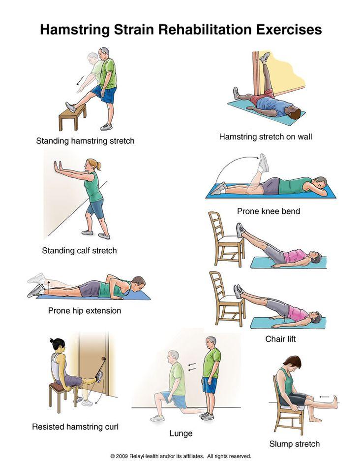 Summit Medical Group - Hamstring Strain Exercises