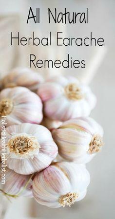 All Natural Herbal Earache Remedies.Herbal medicine.