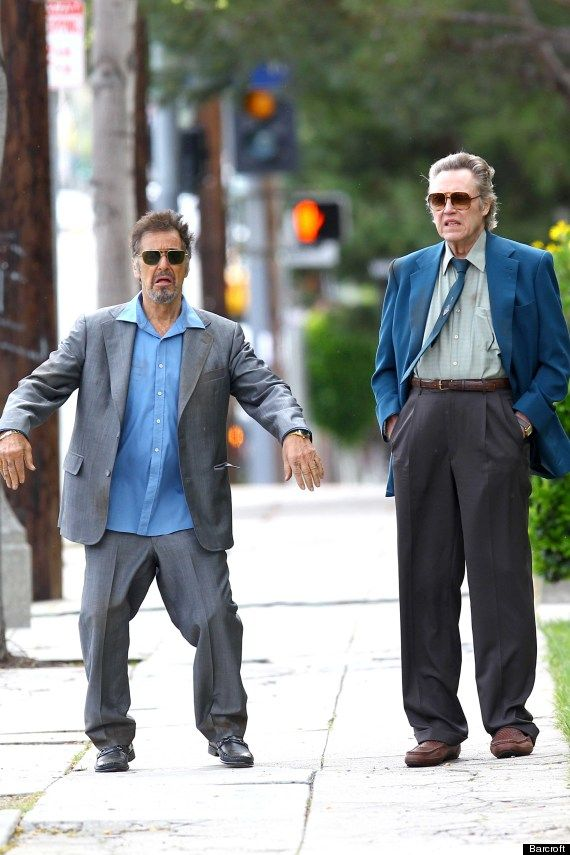 Al Pacino and Christopher WalkenPeople Hanging, Old Men, Al Pacino, Alpacino, Funny, Movie, Awesome People, Christopherwalken, Christopher Walken
