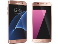 New Samsung Galaxy S7 and S7 Edge are pretty in Pink Gold -- but only at Best Buy Best Buy starts selling the blush-colored phones on August 28th.