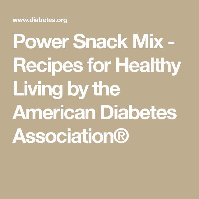 Power Snack Mix - Recipes for Healthy Living by the American Diabetes Association®