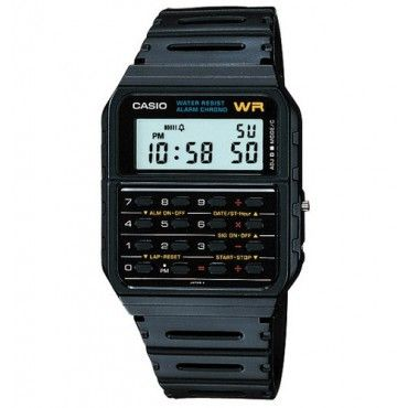 The 80's Classic! The Casio Databank CA53W-1 $79