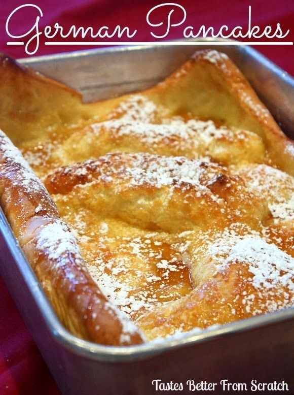 German Pancakes - Tastes Better From Scratch