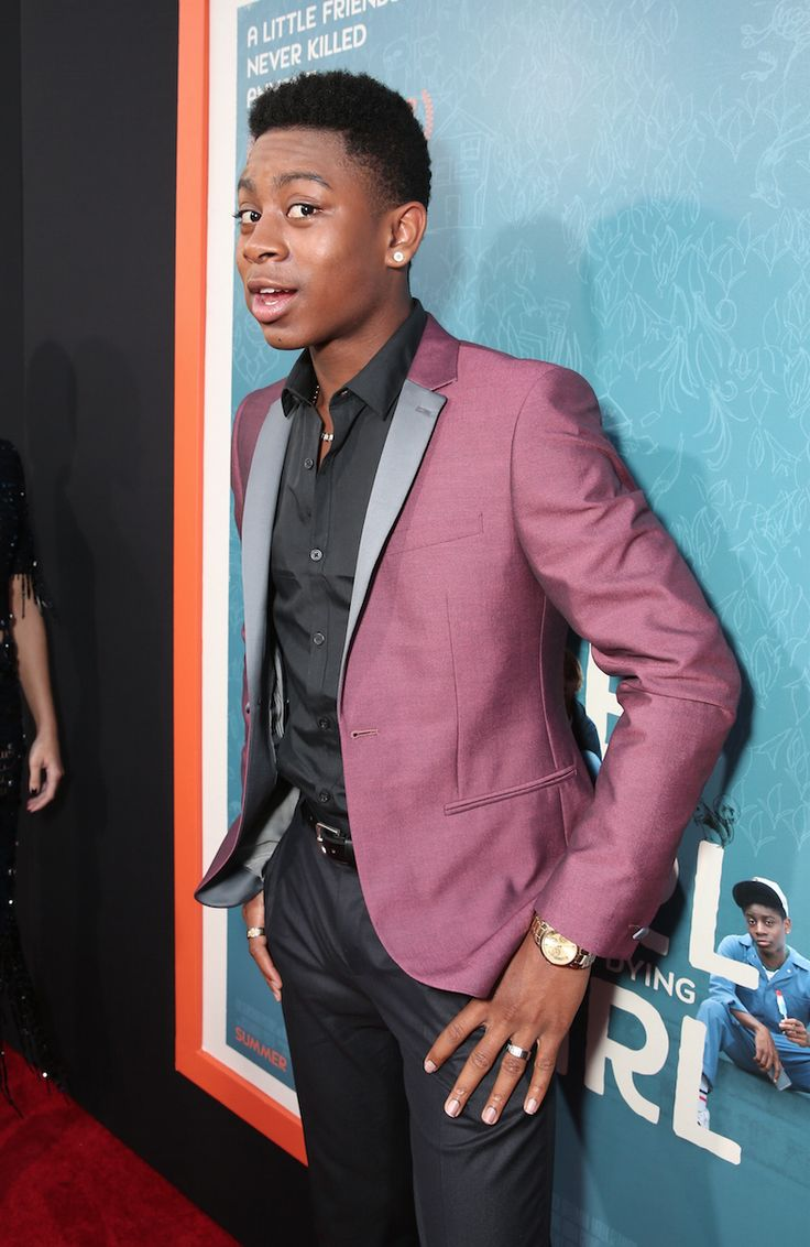 | LA Premiere | RJ Cyler is a step and repeat natural #MeAndEarl