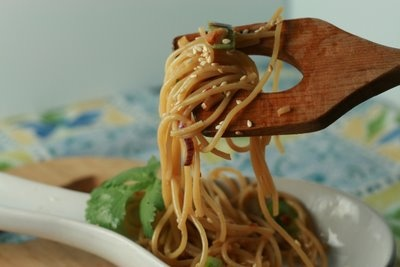 Sesame and Cilantro Vermicelli Salad http://www.barnappetit.com/2009 ...
