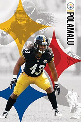 Troy Polamalu Pittsburgh Steelers Posters