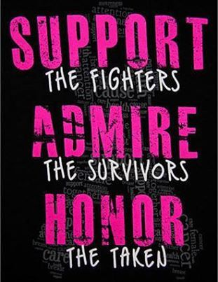 Support, Admire, Honor....