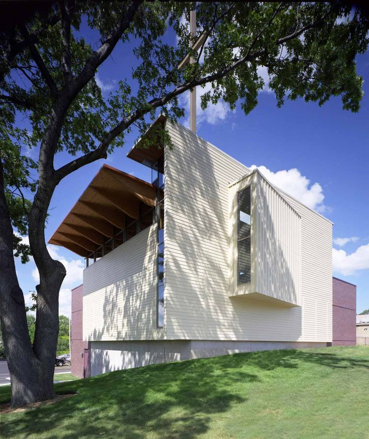 Image 1 of 18 from gallery of First Congregational Church, United Church of Christ Sanctuary / Constantine George Pappas AIA Architecture/Planning. Photograph by David Rose