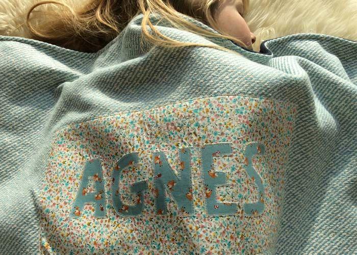 'Agnes' blanket / by www.missmoss.be