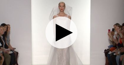 Brides: Watch: Amsale's Spring 2015 Bridal Runway Show