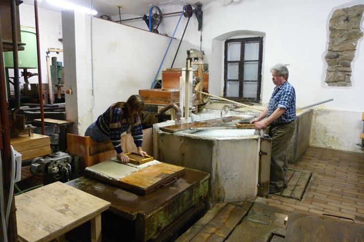 Handmade Paper Mill Velke Losiny - Czech Republic