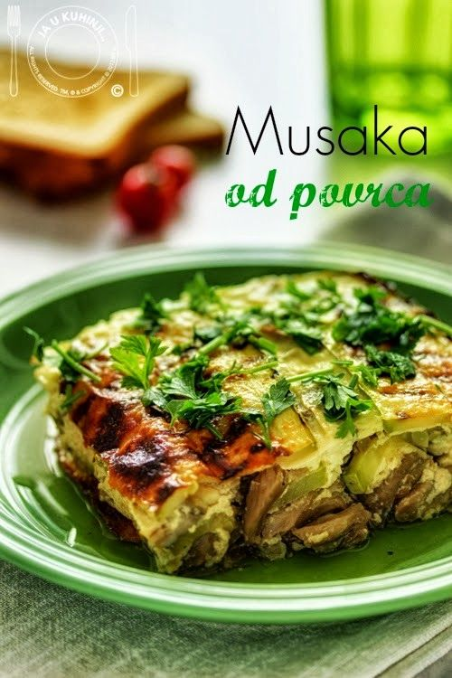 Vegetable Moussaka | My work... | Pinterest