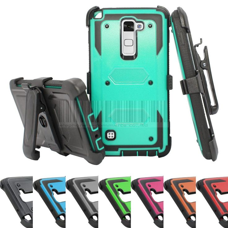 Rugged Impact Heavy Duty Anti-Shock Future Armor Protective Case Cover+Holster With Belt Clip For LG Stylo/Stylus 2 LS775 //Price: $7.41//     #electonics