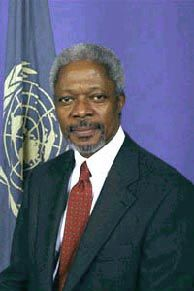 The My Hero Project - Kofi Annan.....We are all part of the same human FAMILY........