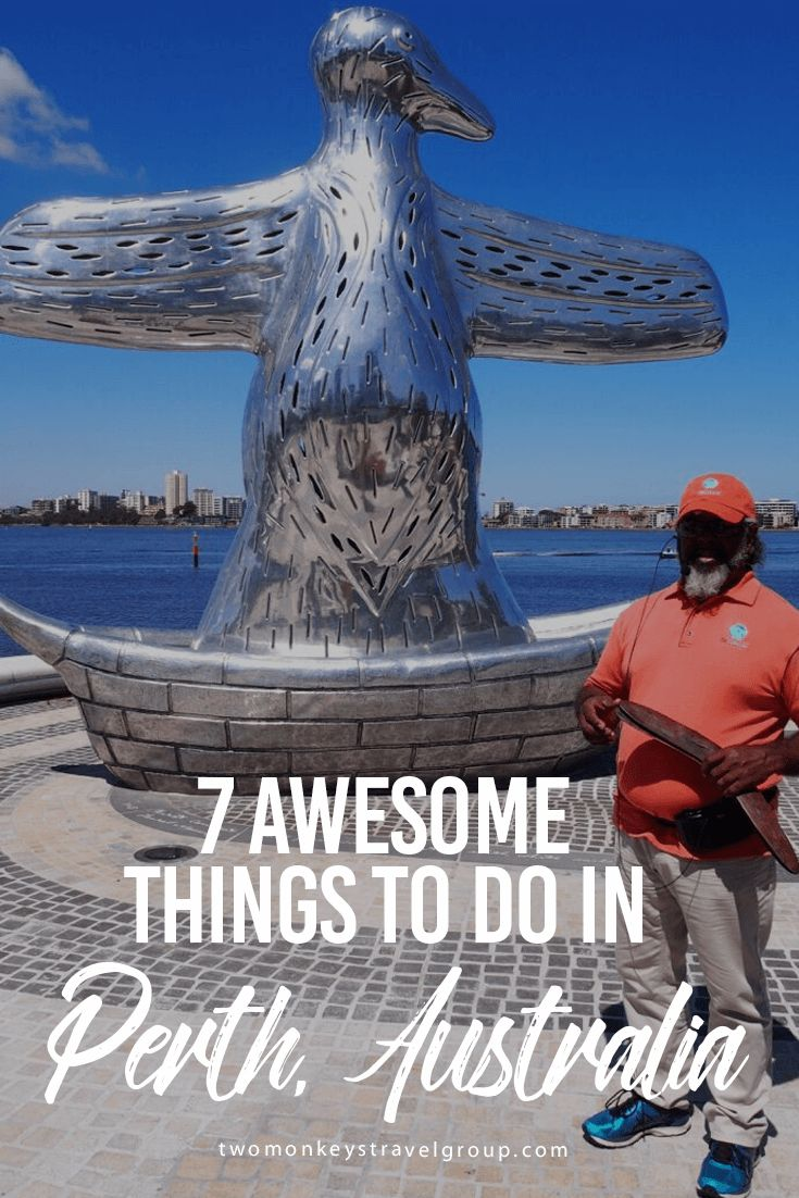 Here are 7 awesome things to do in Perth, Australia. Perth is the capital city of Western Australia and the most isolated city in the world.