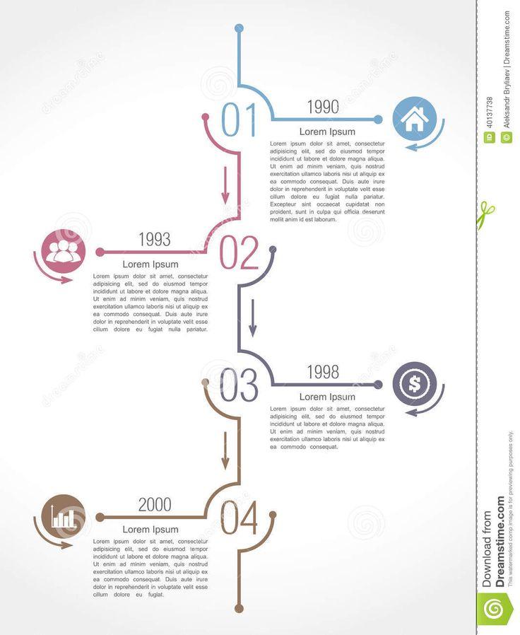 Chronologie Infographics - Télécharger parmi plus de 28 Millions des photos, d'images, des vecteurs et . Inscrivez-vous GRATUITEMENT aujourd'hui. Image: 40137738