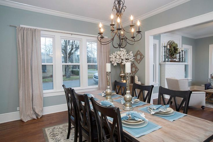 Hgtv fixer upper dream home decorating pinterest for Dining room wall colors