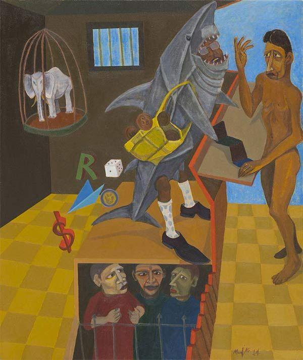 Richard Mudariki - Loan Shark, 2014