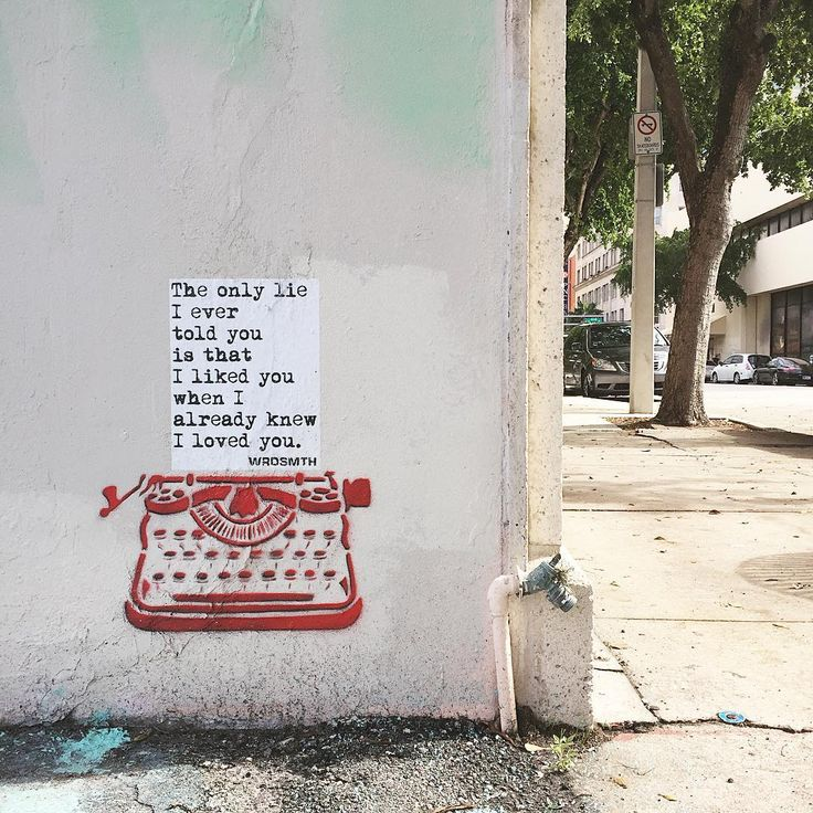 """""""The only lie I ever told you is that I liked you when I already knew I loved you. _____________________________________________ @wrdsmth @canvaswpb…"""""""