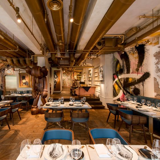 Stellar street art complementing French cuisine in Hong Kong, this will blow…