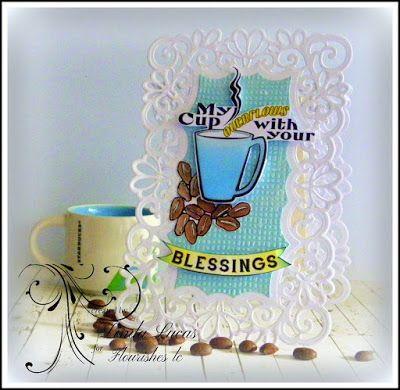 Lovely Linda's Craft Central!!  @flourisheslccom  #flourisheslc @imaginecrafts  @SBAdhesivesby3L  #fllc #paperart #diy #handmade #paperart #card #craft #embossing #falltree #laurenpope #embossing #sponging #diecutting #septembernewrelease #newrelease #lovelylinda @Lovely Linda #lindalucas #linda #teamspellbinders #coffee