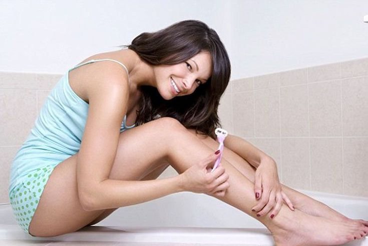 No matter which body part you're shaving, the process is pretty intuitive — http://besthairremovals.com/best-hair-removal-guide/hair-removal-methods-at-home/how-to-remove-hair-permanently-from-private-parts/