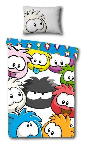 Disney Club Penguin Arctic Reversible Panel Single Bed Duvet Quilt Cover Set by Linenideas. $58.35. Single Bed Duvet Cover Set:- Duvet Cover:- 200 x 135 cm 78.7 x 53.1 Inch 1 Pillow Case:- 74 x 48 cm 29.1 x 18.9 Inch Other Information:- Panel Design/Pattern 100% Polyester Microfibre Machine Washable Official Licensed Product