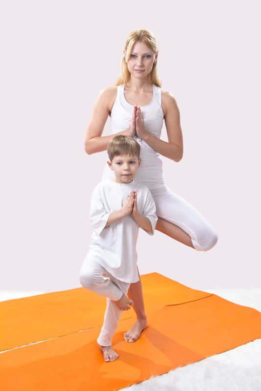 """Mommy and Me"" Yoga Classes"
