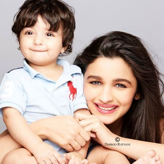 An Adorable Moment of Shivaan Ratnani With Alia Bhatt .