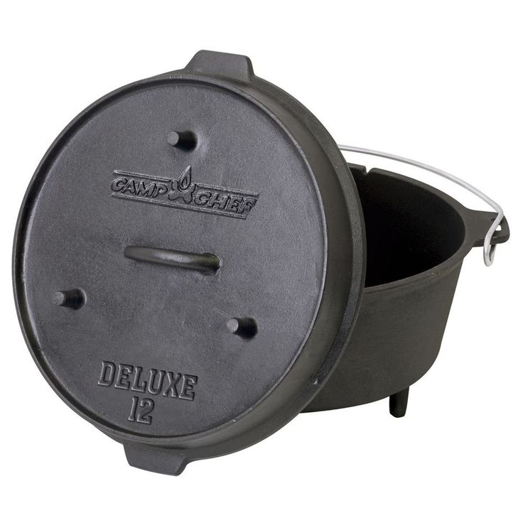 Camp Chef Deluxe 9 1/3-Quart Dutch Oven >>> New and awesome outdoor gear awaits you, Read it now  : Camping stuff