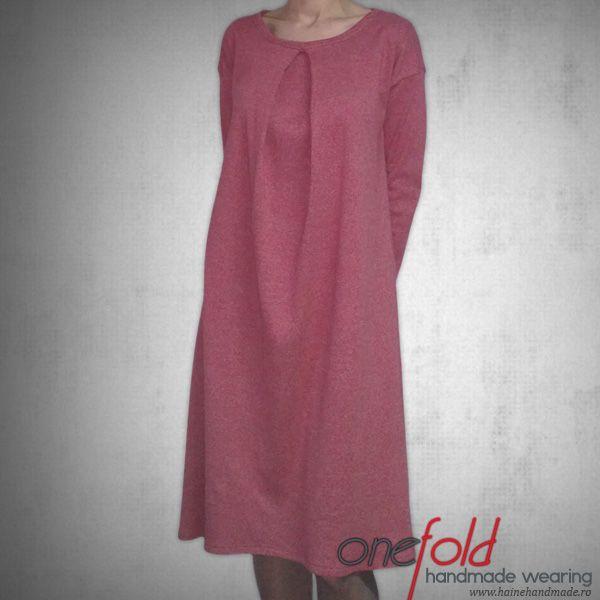 rochie cu maneci lungi fld