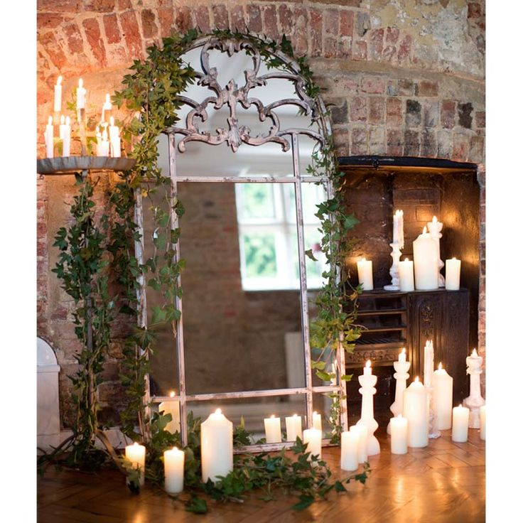 Beaux-Arts French Mirror by The French Bedroom Company