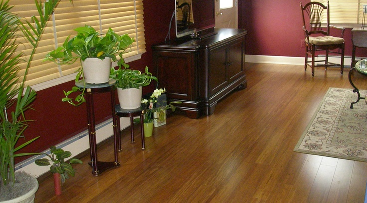 Bamboo Flooring Prices And Samples | Ambient Bamboo- this is click lock flooring & very hard - great for pets! $4.54