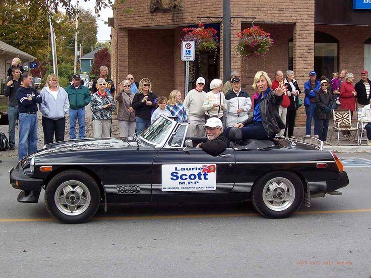 2013 Bobcaygeon Fair Parade - Laurie Scott MPP