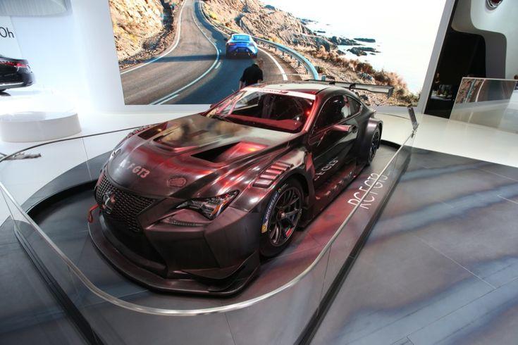 В Женеве дебютировал гоночный спорткар Lexus RC F GT3
