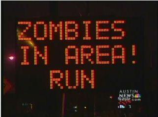 Austin TX - hack of road sign
