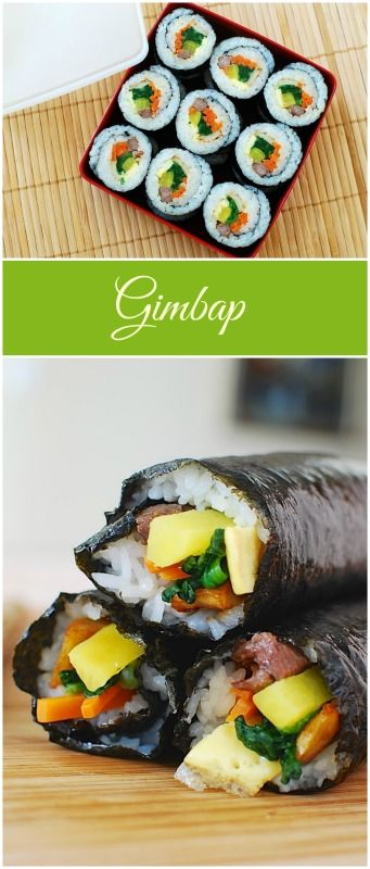 Learn how to make gimbap the traditional way with step-by-step photos!