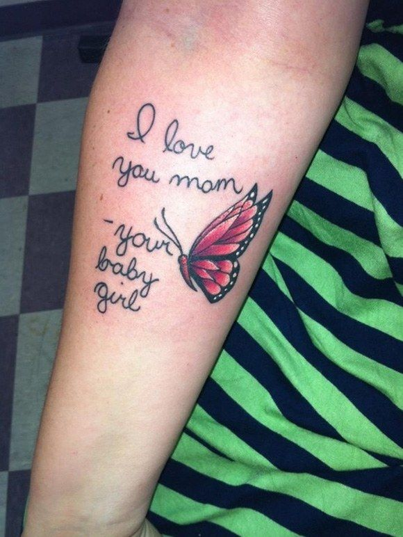 103 best tattoo ideas to honor mom mother tattoos images for Memorial tattoos for daughter