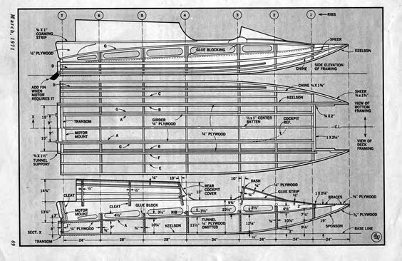 Tunnel Hull Boat Plans