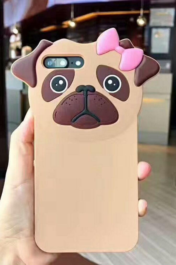 Bulldog iphone 6, iphone 6 plus, iphone 7 & iphone 7 plus protective Case For cute girls