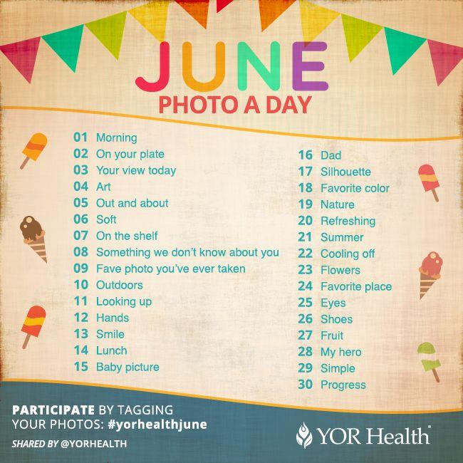 YOR Health Photo A Day June