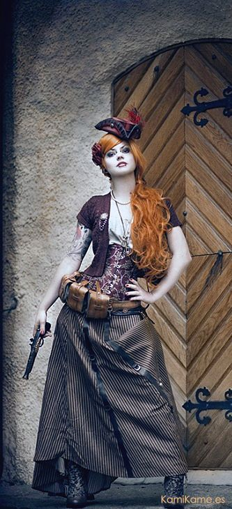 Steampunk- something a little different. I like it.