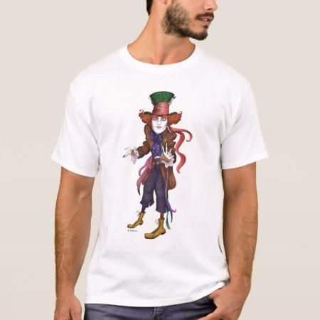 The Mad Hatter | Mad as a Hatter T-Shirt - click/tap to personalize and buy