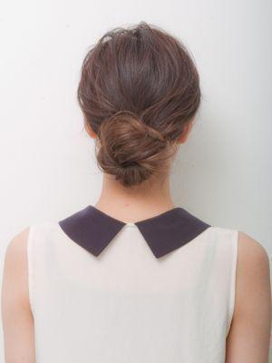低い位置で上品にきちんと感が出せる♡両家顔合わせ・結納の髪型「お団子」のアイデアを集めました!