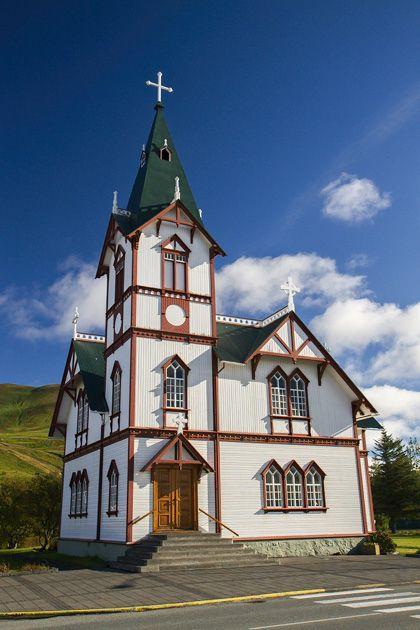 Húsavík Church, Iceland