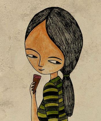 self portrait - Nalisha Chouraria