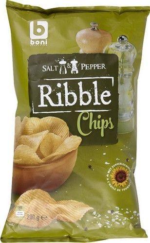 BONI SELECTION Ribble chips poivre sel 200gr BONI SELECTION Ribble chips poivre sel sont des chips de pommes de terre idéale en apéritif ou comme en-cas. Sur www.chockies.net
