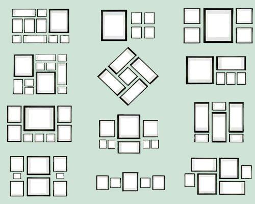 A falta de un objeto decorativo de magnitud suficiente para crear un punto focal, agrupa... | 10 trucos de decoración