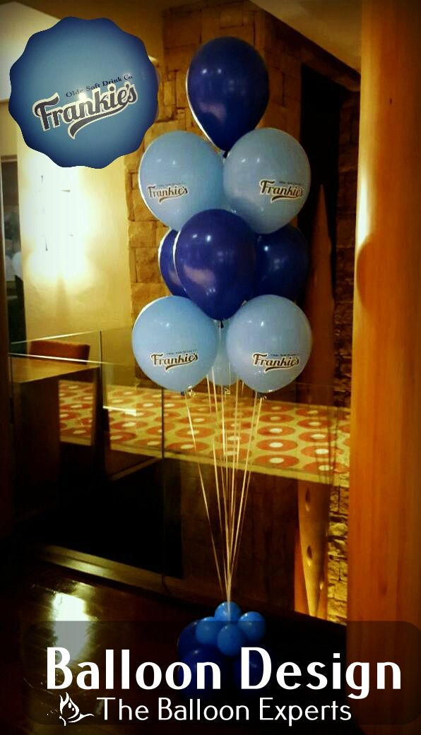Balloon Bouquets for Frankie's Olde Soft Drink Company