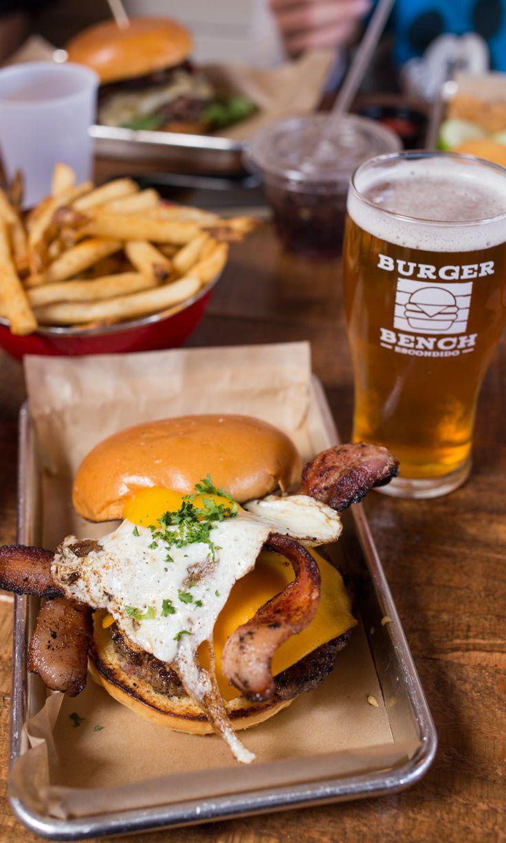 Burger Bench in Escondido